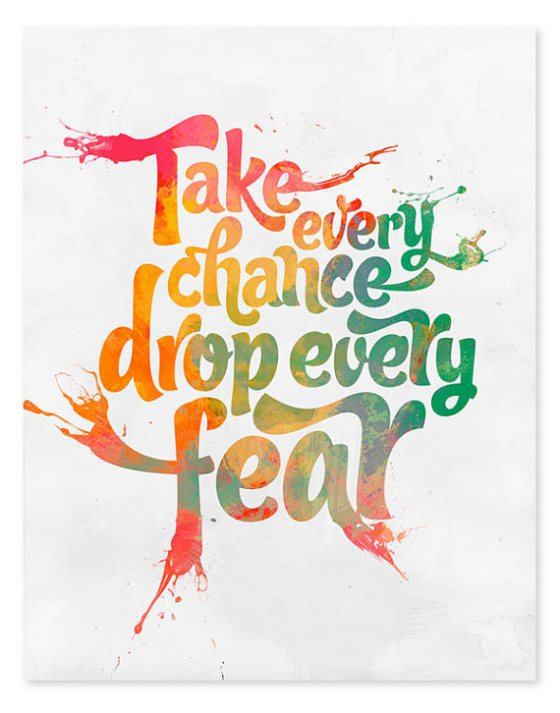 take every chance